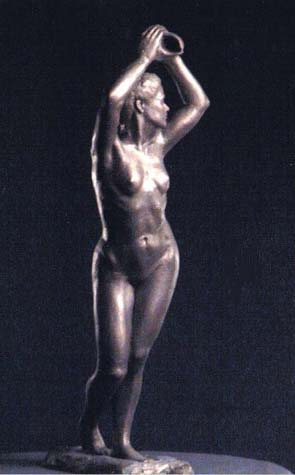 Rosemary Gurpide, Bronze Figure, 30 high