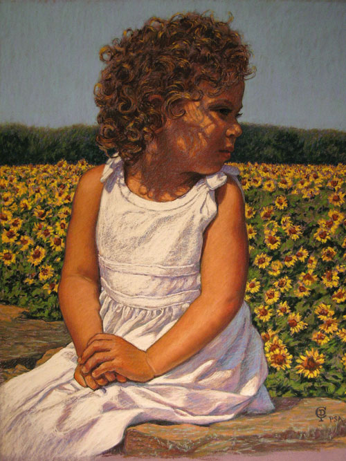 Claudia Post, Falyn & Sunflowers