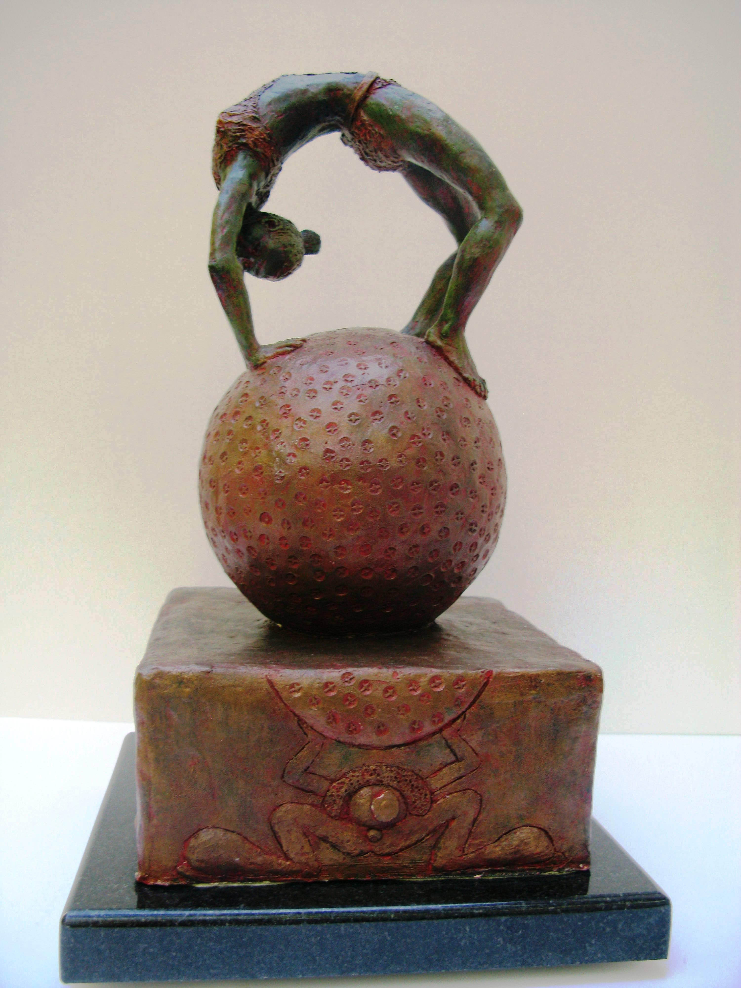 Fay Stevenson-Smith, Circus Acrobat, terracotta