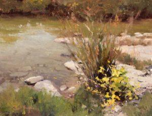 Neal Hughes, Mim's Creek, oil