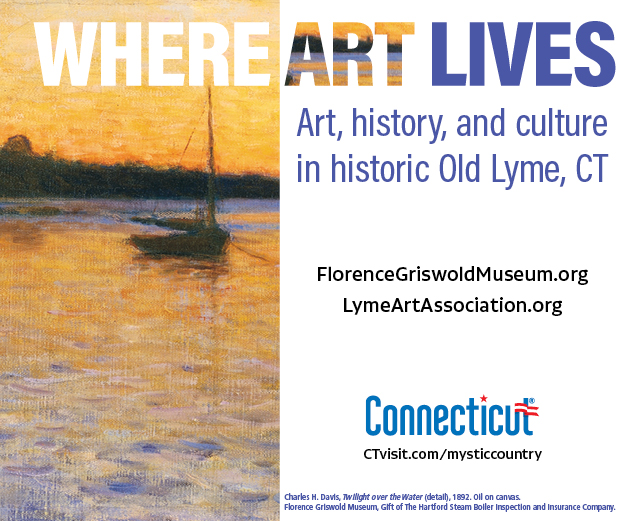 Ad for art in Old Lyme