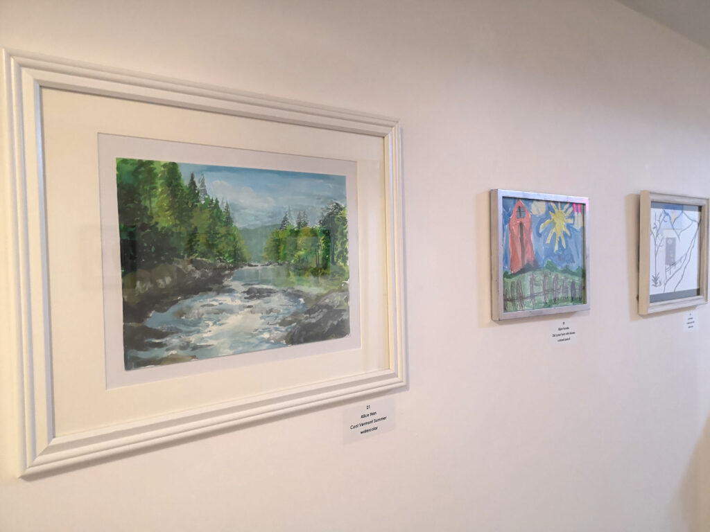 view of young impressions exhibit