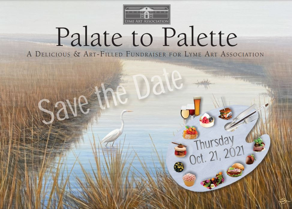 Save the Date for Palate to Palette event